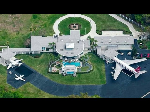 Top 10 Most Expensive Actor's Mansion Homes #1
