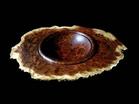 Woodturning with Tim Yoder- Winged Burl Bowl