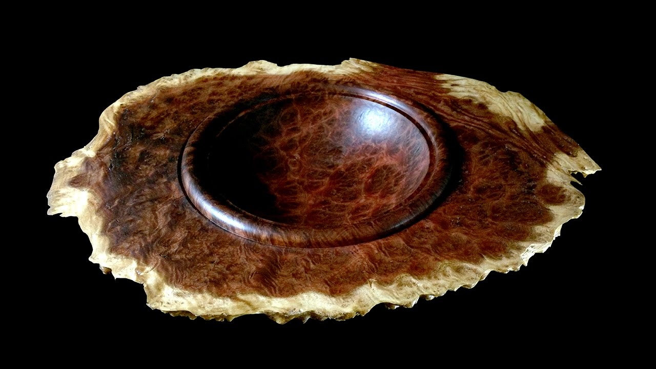 Winged Burl Bowl Youtube