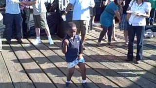Little Boy steals the show at Santa Monica Food Festival 09