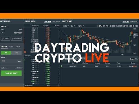 DAY-TRADING CRYPTO  | LIVE