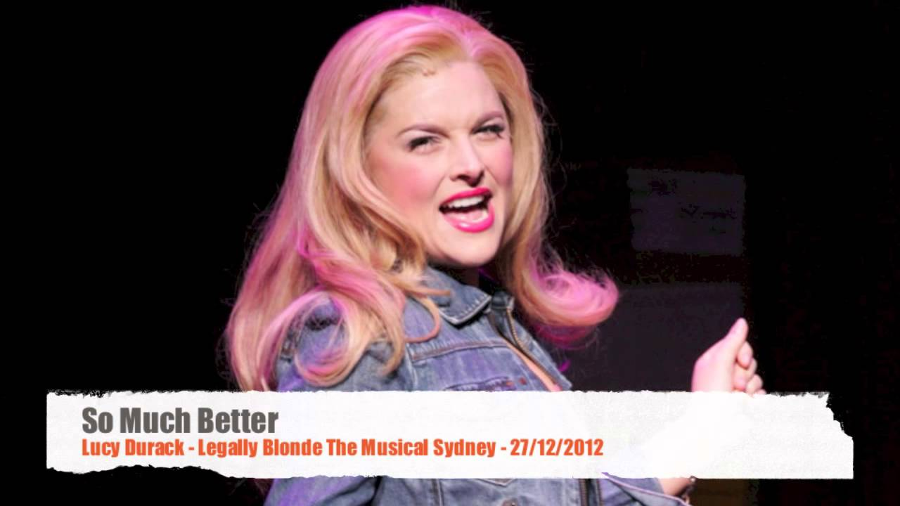 Lucy Durack Legally Blonde The Musical ...