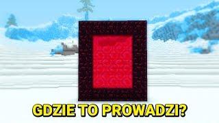 Minecraft Syberia #6 - DOKĄD PROWADZI TEN PORTAL?