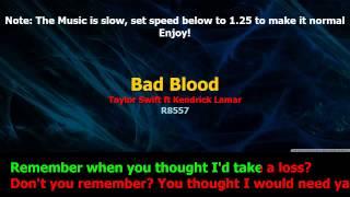 Download stafaband info   Taylor Swift Bad Blood ft Kendrick Lamar