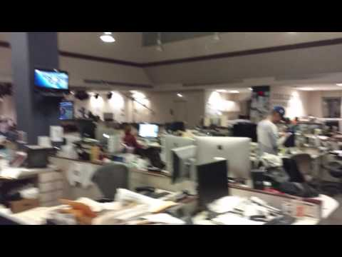 Chicago Tribune Newsroom Reaction to Cubs' Final Out of World Series