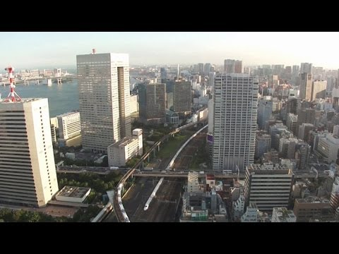 Tokyo City View from World Trade Center Building (世界貿易センタービルからの東京の眺め)