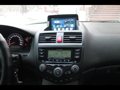 Штатная магнитола Honda Accord CL7, CL9