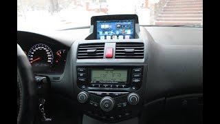 Штатная магнитола Honda Accord CL7 CL9