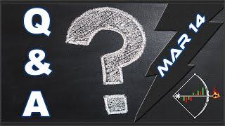 Stock Market Q&A (SPY, News, MJ, Tech, Momo) for Today - March 14, 2019