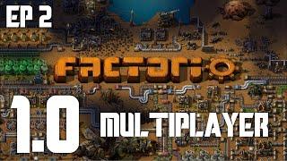 Factorio 1.0 Multiplayer | Spidertron Speedrun(?) | Part 2: Blood and Oil