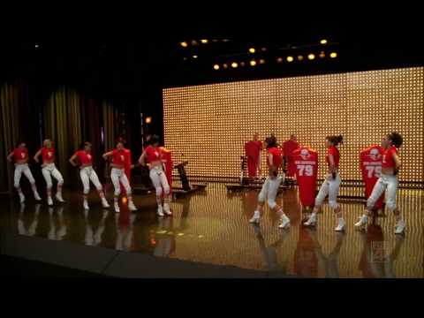 Glee Cast - You Keep Me Hangin' On (HD Music Video)