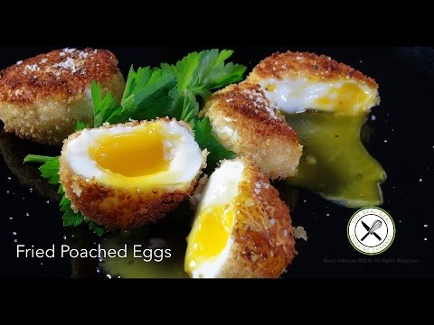 Fried Poached Eggs – Bruno Albouze
