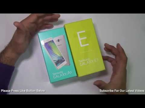 Samsung Galaxy E7 VS Galaxy A5 Comparison- Which Is Better And Why?