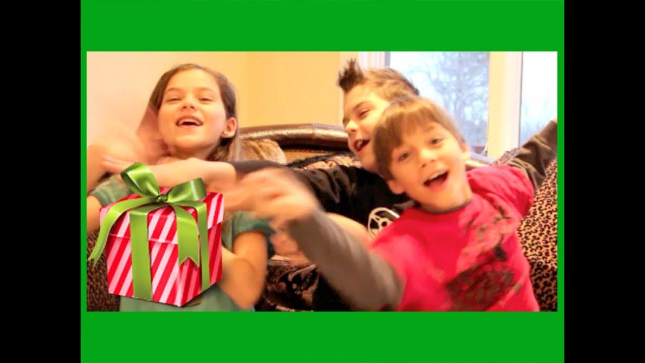 YouTube Gift Exchange! Christmas 2013   Kittiesmama, Bratayley ...