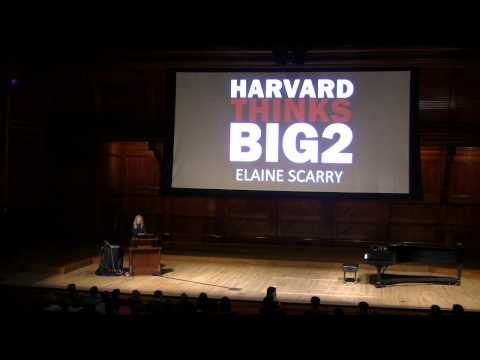 Beauty as a Call to Justice: Elaine Scarry - Harvard Thinks Big