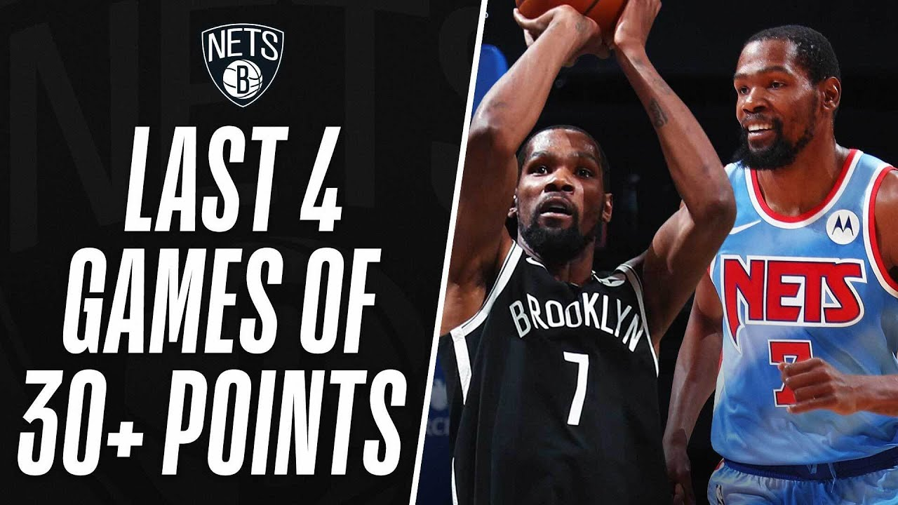 Download ⚫ Kevin Durant's BEST MOMENTS From The Last 4 Games Of 30+ Points! ⚪