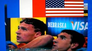 Lochte Loses Gold for USA-Mens 4x100m Freestyle Relay 2012 Olympics