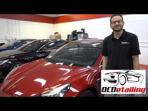 Tesla Model 3 - First Look - OCDetailing®