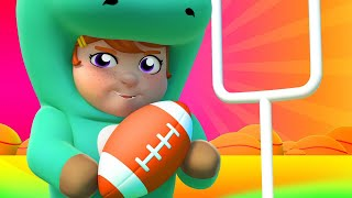 Superbowl Song - American football | Kids Karaoke Songs and Dance - One Zeez