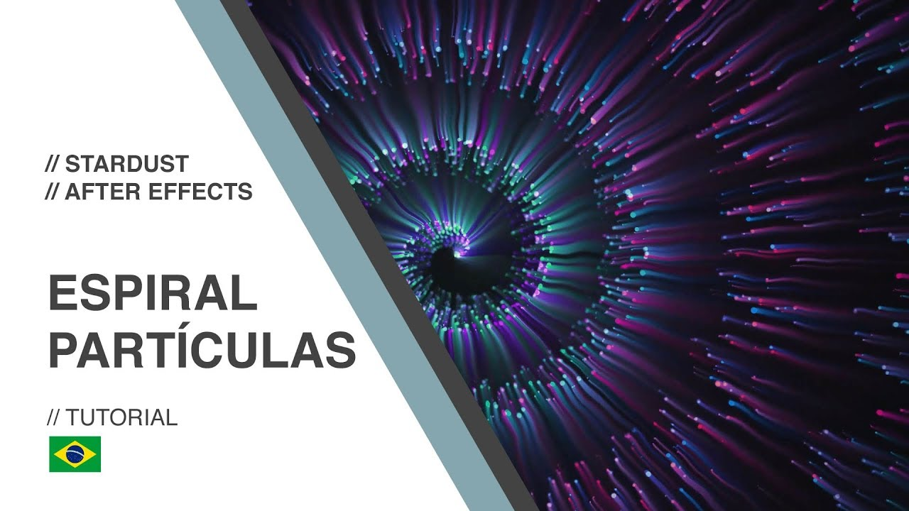 GUI ESP - Motion Design - Particle Spiral - Stardust / After Effects