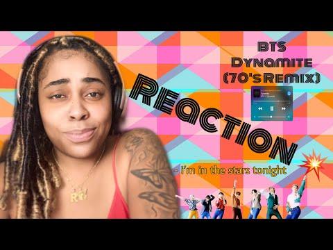 BTS (방탄소년단) 'Dynamite' ('70s remix) MV •FIRST TIME REACTION•