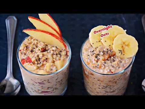 Apple Cinnamon Chia Overnight Oatmeal