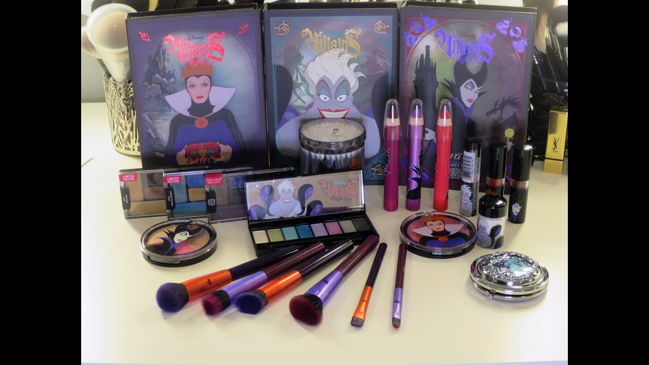 Haul and Unboxing: Disney Villians Makeup Collection from ...