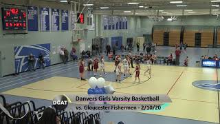 DHS Girls Varsity Basketball vs Gloucester - 2/12/20