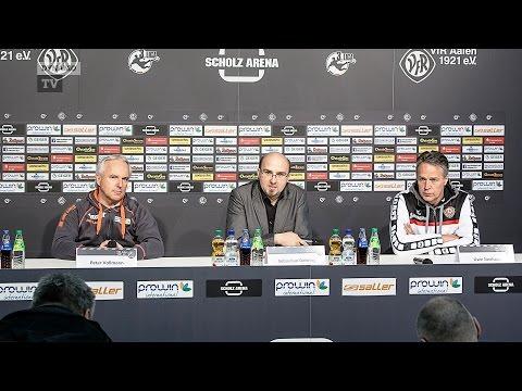 30. Spieltag | VFR - SGD | Pressekonferenz nach dem Spiel