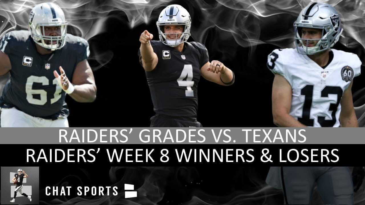 Carr Drives Raiders To Control