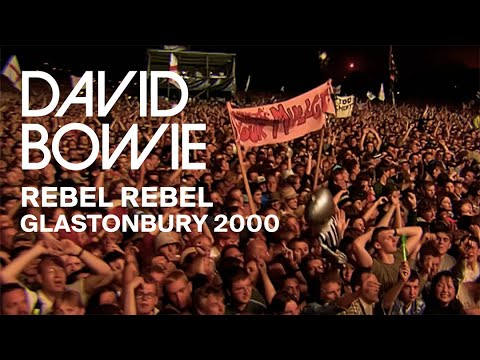 David Bowie - Rebel Rebel, Live at Glastonbury 2000 (Video Clip)