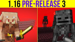 Minecraft 1.16 Pre-Release 3 The Fate Of Two Farms!