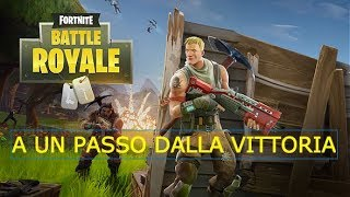 A passo dalla vittoria! Fortnite Battle Royale