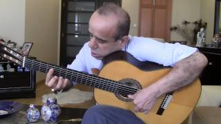 Melih Kapucu - Fernando Sor Variations on a Theme by Mozart - Conde Hermanos Guitar