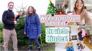 Weihnachtsbaum fällen 🎄 Mittagessen kochen für Großfamilie | Familien Alltag | Mamiseelen