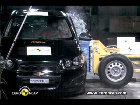 Euro Ncap Chevrolet Aveo 2011 Crash Test Youtube