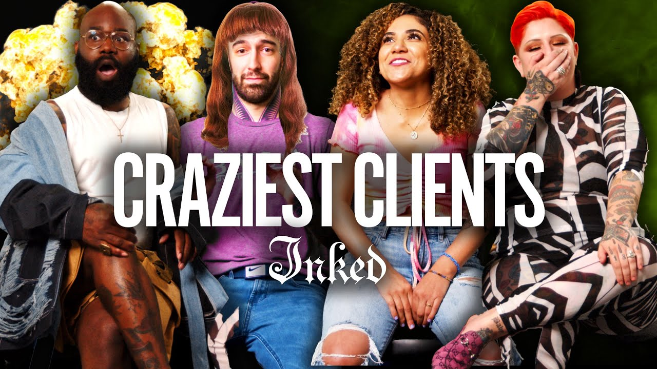 Download 'Let Me Smell Your Hand' Our Wildest Crazy Client Stories Ever | Tattoo Artists React