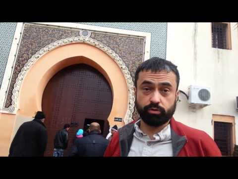 Carlos au Palais de justice | Meknes, Maroc | Bike trip 2012
