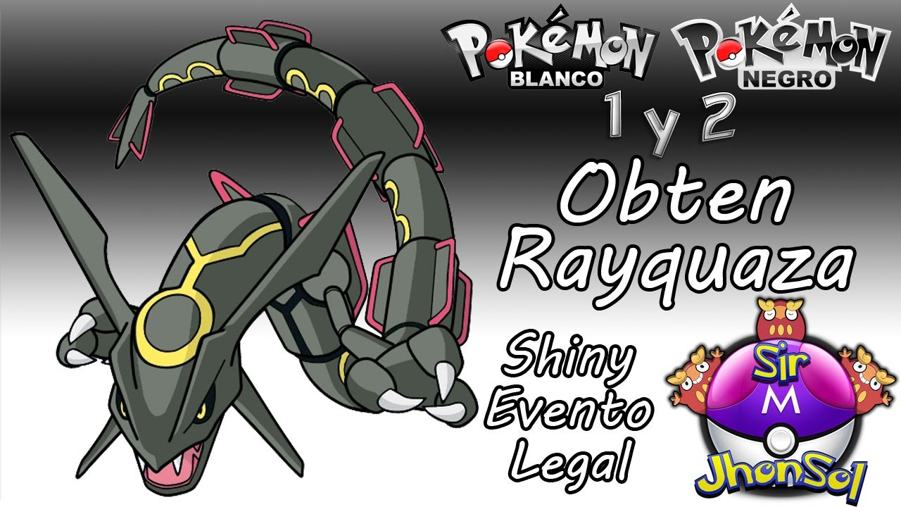 how to catch rayquaza in black 2