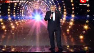 X Factor Ukraine Yakov Golovko Moses with live orchestra