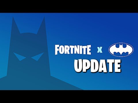 FORTNITE X BATMAN Countdown + Gameplay (Fortnite Batman Event Update)