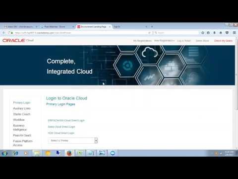 DEMO 1 Oracle HCM Functional RTL Technologies 8885589062