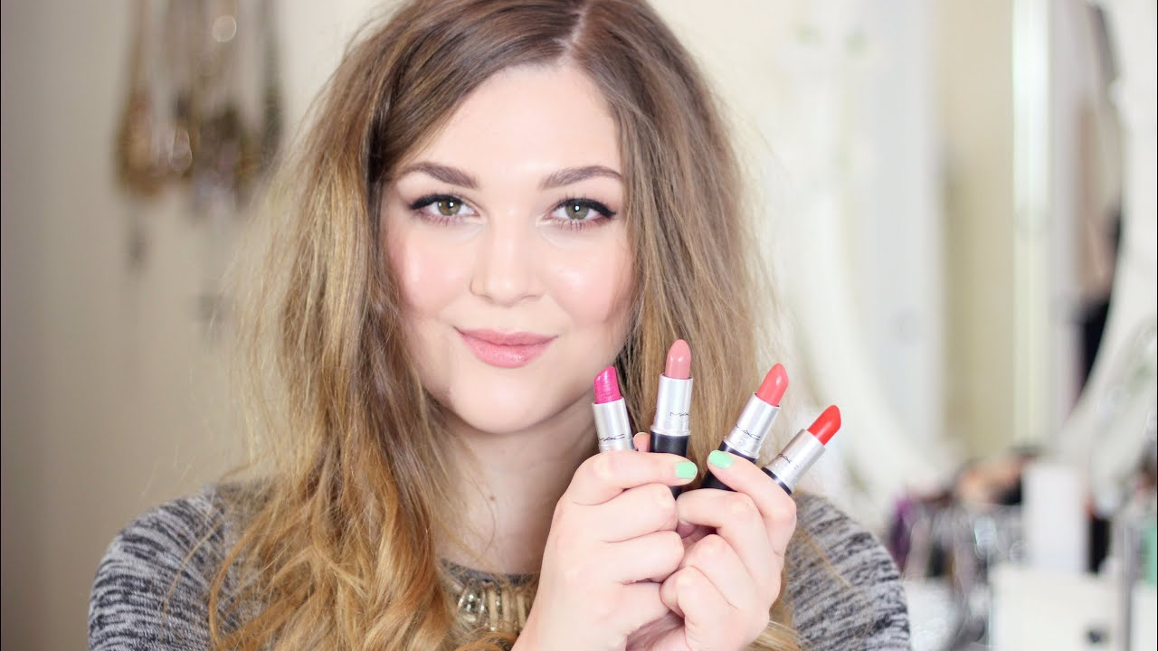 My MAC Lipsticks
