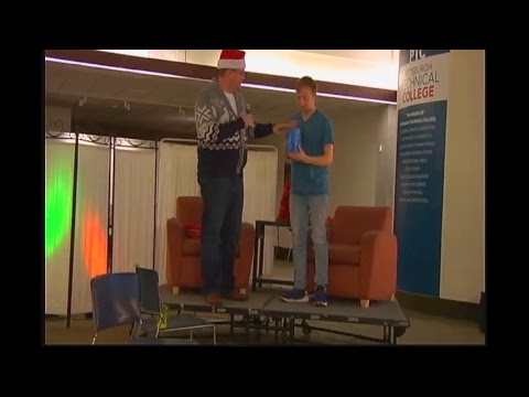 Pittsburgh Technical College - Minute to Win It December 2017