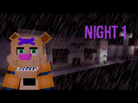 Five Nights at Angie's | Night 1 | FNAF Minecraft Film