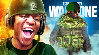 African Warlord plays Warzone