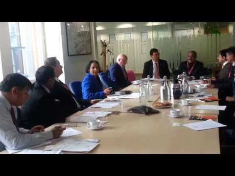 Maani Sir at Ministry of Business Innovation & Skills, London