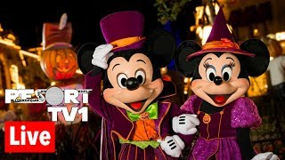 🔴Live: Mickey's Not So Scary Halloween Party - Magic Kingdom Live Stream - 9-14-18