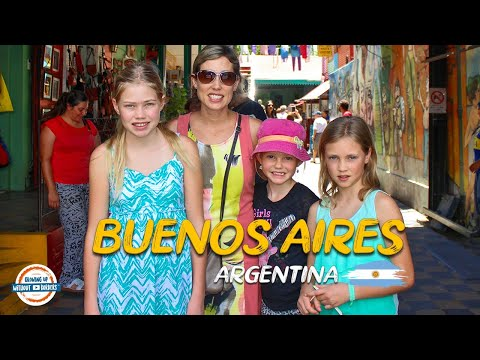 Discovering Buenos Aires Argentina | 80+ Countries w/3 kids