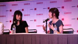 How to Voice Act - Koshimizu Ami and Ryoka Yuzuki [Best of Moments AX2014]